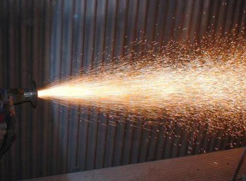 烟台某热电厂锅炉热喷涂修复