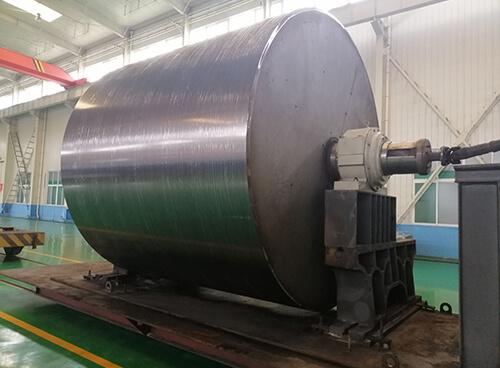 河南濮阳纸厂烘缸热喷涂碳化钨