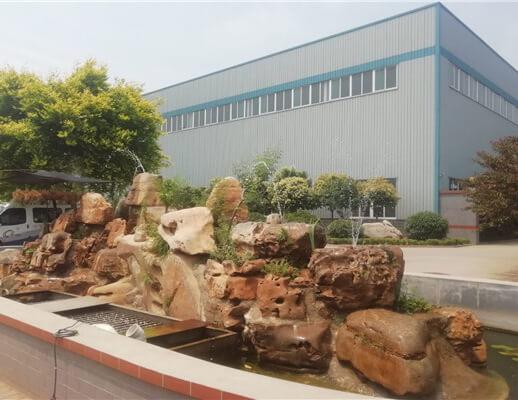 济南天盟新材料科技有限公司厂区一角