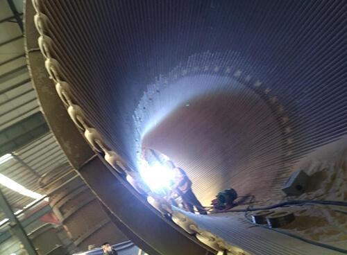 电厂锅炉烟道热喷涂耐磨防腐抗结焦涂层