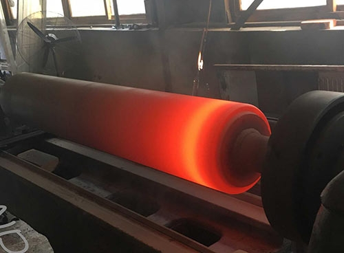钢铁厂热喷涂锌沉没辊
