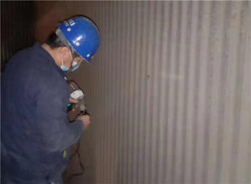 满城电厂锅炉受热面喷涂施工