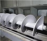 螺旋绞龙表面碳化钨喷涂强化